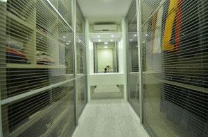 Instalação de AC em closet