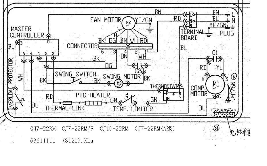 diagramas el u00e9tricos gree