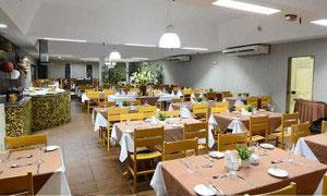 Ar-Condicionado Piso-Teto em Restaurante