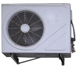 Condensadora - renovação do ar