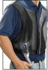 Colete ar condicionado para moto