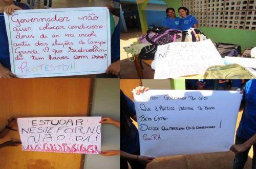 greve de alunos