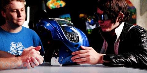 capacete com ar condicionado