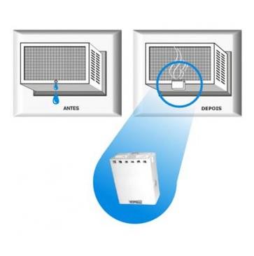 Equipamento elimina gotejamento de ar-condicionado