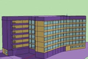 Simulação apresenta propostas para aumentar eficiência energética da Escola de Engenharia da UFRGS