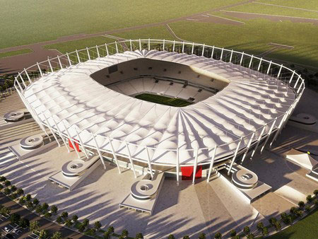 Maquete Estádio Mané Garrincha, Brasília