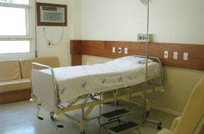 Quarto de pacientes
