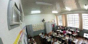 11 mil salas de aula do Paraná tão aparelhos de ar condicionado