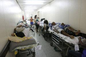 Problemas no hospital