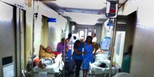 Falta de ar condicionado em hospital de Natal dificulta tratamento dos pacientes