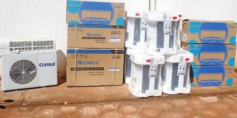 Doação anônima de dez aparelhos de ar-condicionado é feita a hospital do Mato Grosso