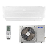 Ar Condicionado Split 9000 BTU Frio Wind Free - Inverter - SAMSUNG - 220v - AR09MVPXAWKAZ