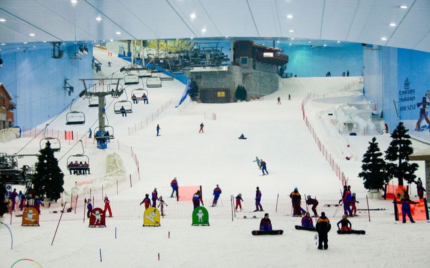 área para ski