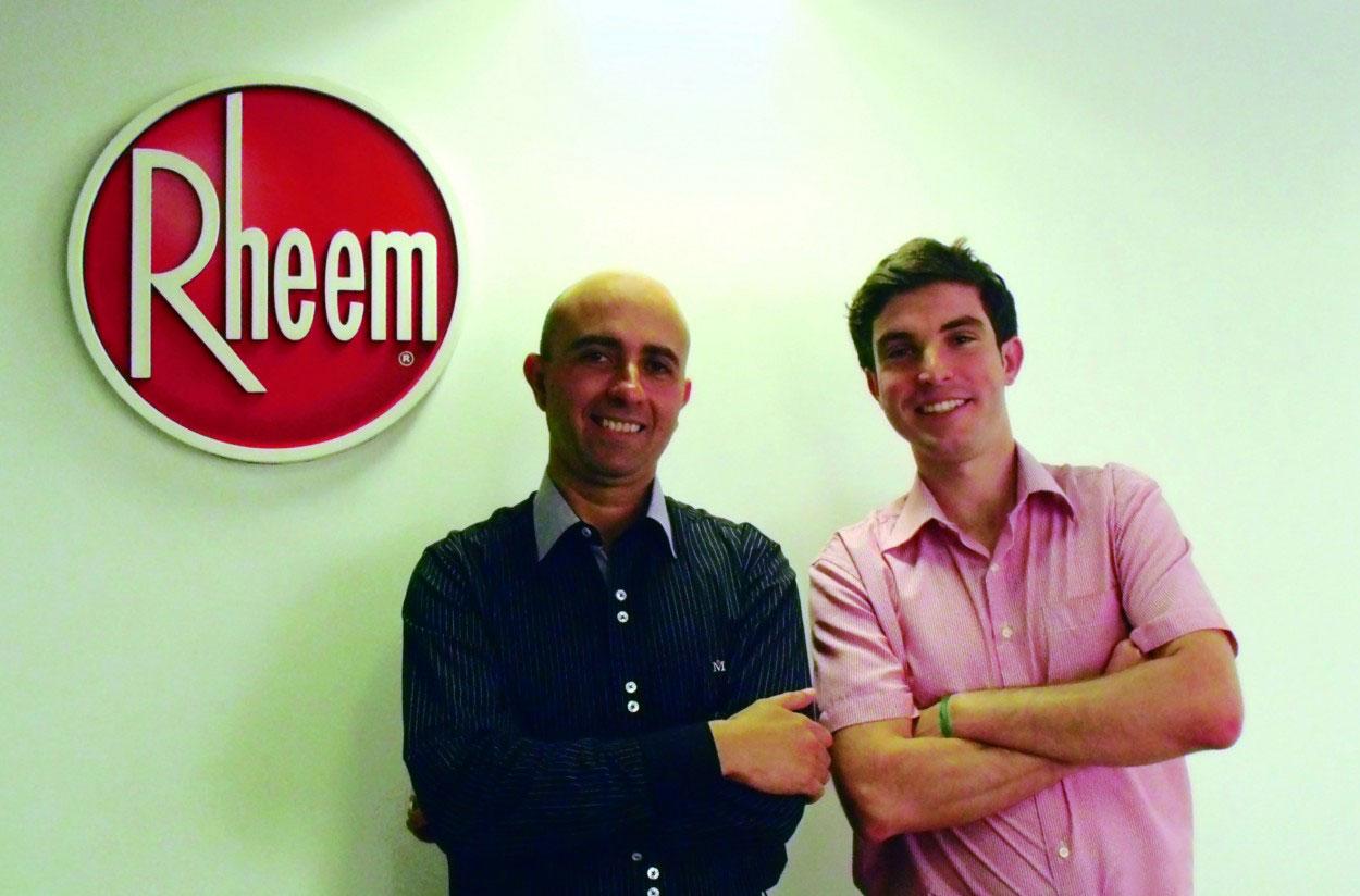 novos profissionais Rheem