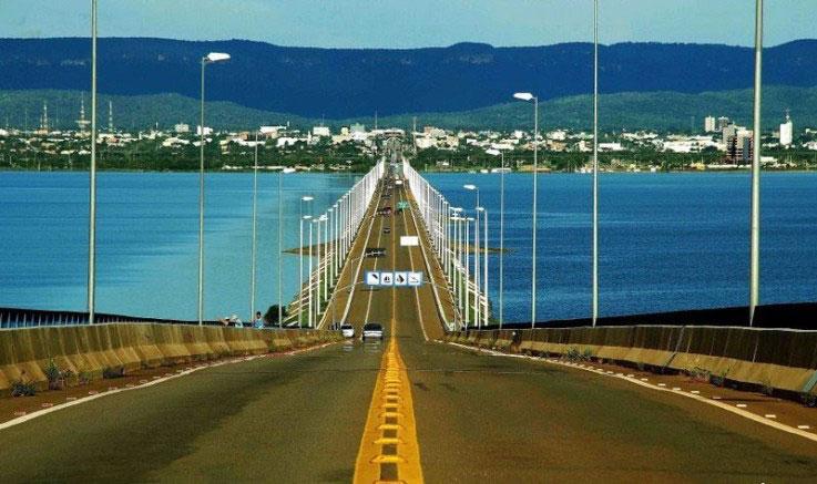Ponte sobre o Rio Tocantins, Palmas-TO
