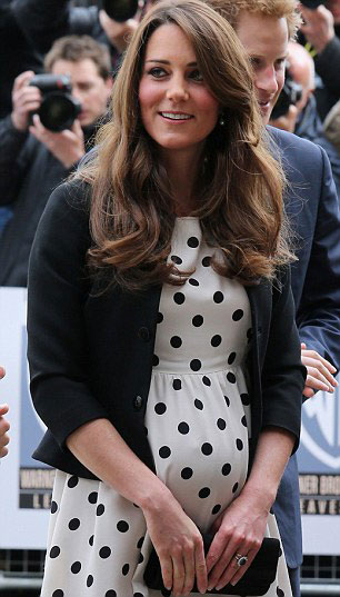 Kate Middleton grávida