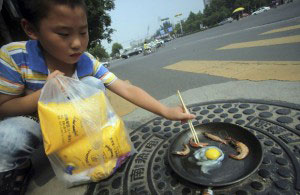 China enfrenta calor crítico 2