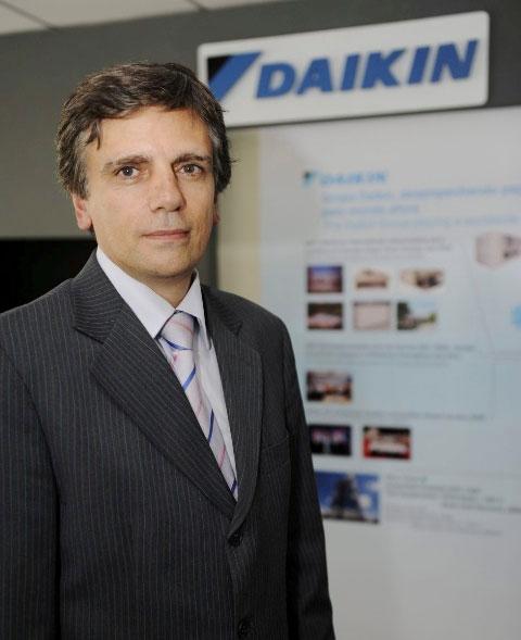 Luiz Carlos Cabral - novo presidente da Daikin no Brasil