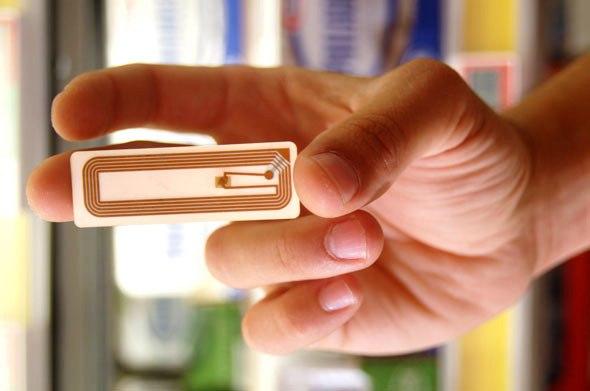 etiqueta de rádio frequencia RFID