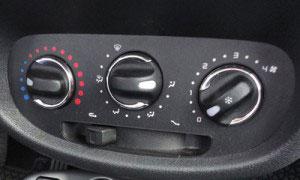 Ar-condicionado veicular analógico