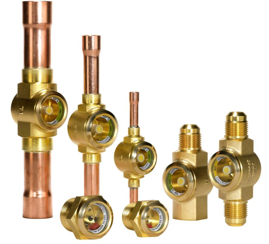 Visor SGP para sistemas com altas pressões