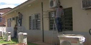 Ar-condicionado em escolas de Foz do Iguaçu - Créditos: G1/Paraná