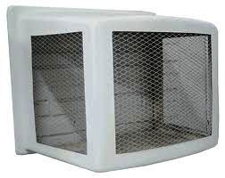 Protetor de ar condicionado de fibra de vidro