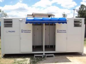 Banheiro container - Imagem ilustrativa