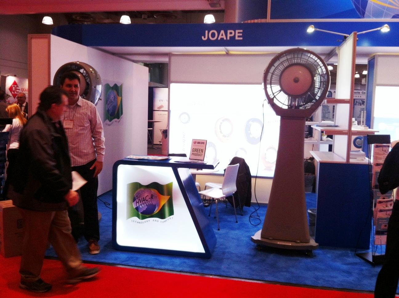 Estande da Joape na AHR - Expo 2014