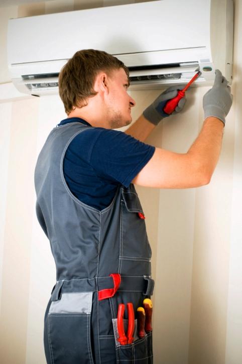Manutenção de ar-condicionado
