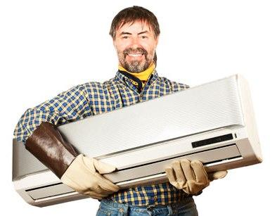 Profissional da climatização