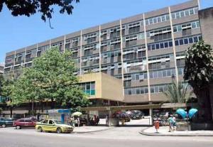 Hospital Souza Aguiar. Foto: Nelson Duarte