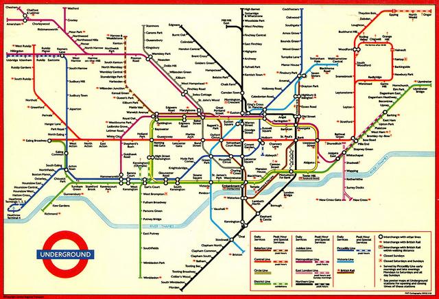 mapa rede metro londres Calor gerado no metrô irá aquecer residências em Londres  mapa rede metro londres