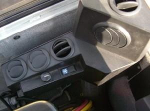 Exemplo de saída de ar. Foto: Ishi Ar Condicionado