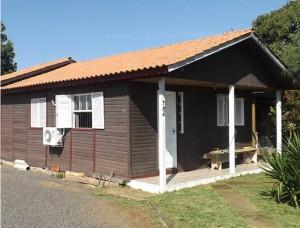 AC em casas de madeira