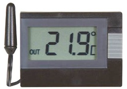 Medidor de temperatura interna e externa para armazenagem de vacinas