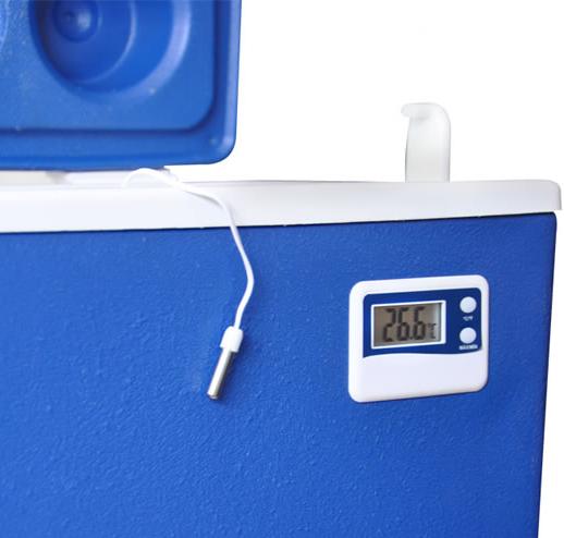 Caixa Térmica com Termômetro