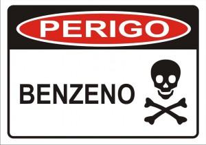Perigo: Benzeno é cancerígeno.