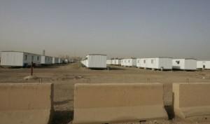Acampamento Liberdade, em Bagdá.