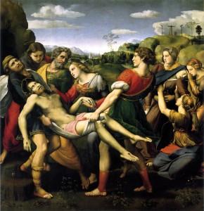 O Santo Enterro (1507), de Raphael