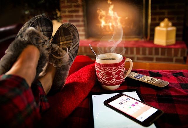 inverno casa quente