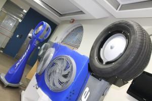Empresa gaúcha cria climatizador feito com carcaça de pneu