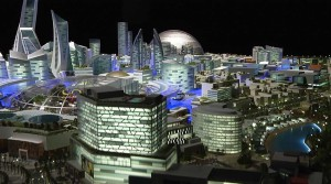Primeira cidade climatizada do mundo