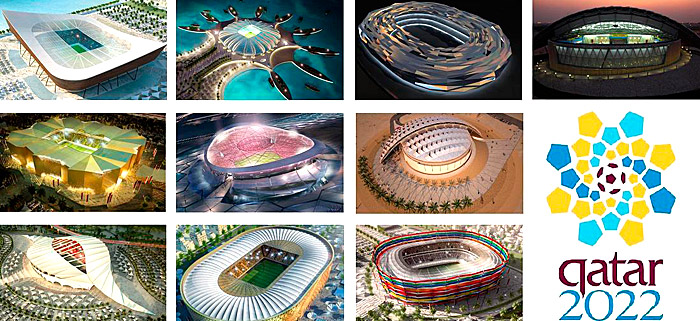 Estádios da Copa do Mundo de 2022