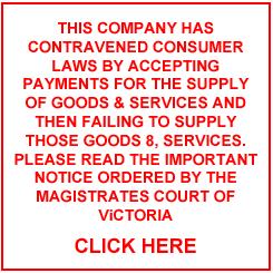Mensagem que está no site da empresa