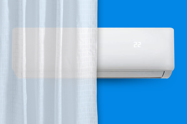 pode-instalar-ar-condicionado-atras-de-cortina
