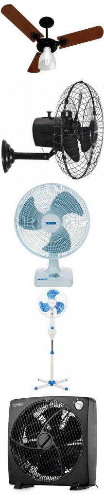 Modelos de ventiladores