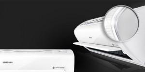 Samsung apresenta novo modelo de ar-condicionado com design triangular