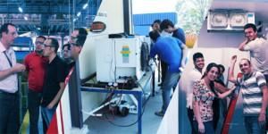 Treinamento Técnico Avançado da Heatcraft em São José dos Campos/SP