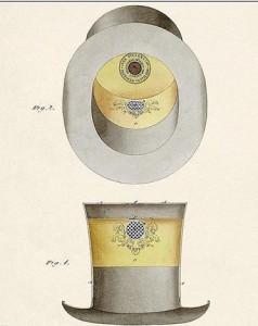 Conheça o chapéu com ar-condicionado, invento do século XIX que nunca saiu do papel